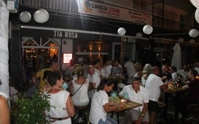 Éxito de participación e inmejorable ambiente en las Veladas de Blanco de Alhaurín el Grande