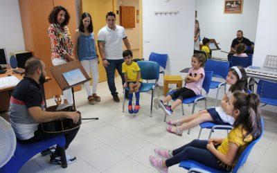 La Escuela Municipal de Música estrena curso con cerca de 200 alumnos.