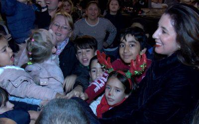 Alhaurín el Grande da la bienvenida a la Navidad con la inauguración del alumbrado