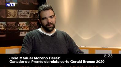 Entrevista a José Manuel Moreno, ganador del XVI Certamen  Internacional Gerald Brenan