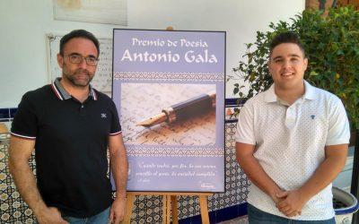 EL ÁREA DE CULTURA CONVOCA EL XIV PREMIO INTERNACIONAL DE POESÍA ANTONIO GALA