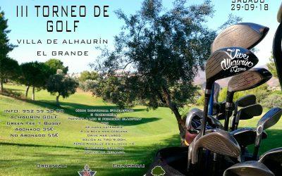 III Torneo de Golf Villa de Alhaurín el Grande