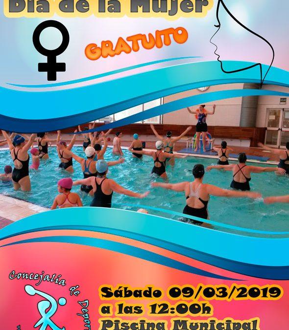 Aquafitness Dia de la Mujer