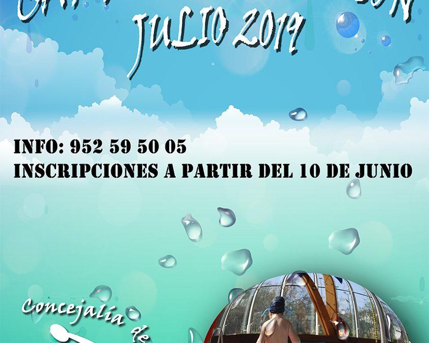 CAMPAÑA DE NATACIÓN VERANO 2019