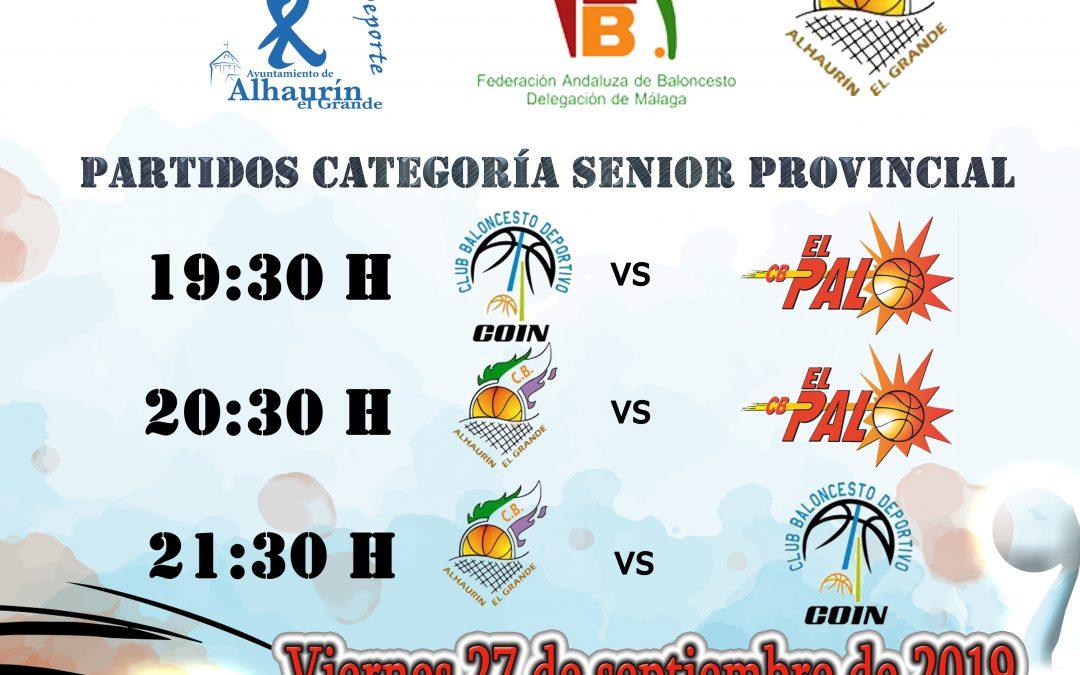 IV edición del Torneo Provincial de Baloncesto Villa de Alh. el Grande