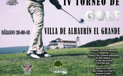 IV Torneo de Golf Villa de Alhaurín el Grande