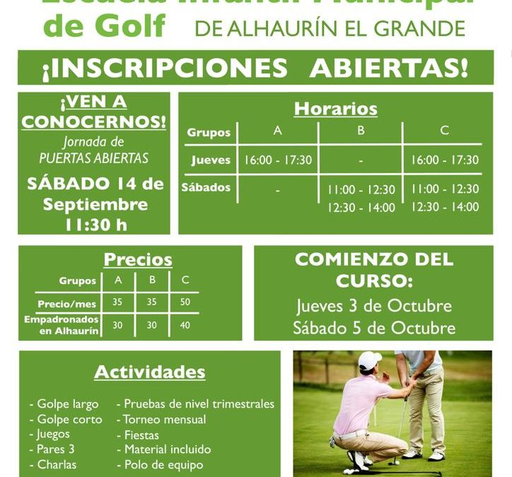 Jornadas de puertas abiertas en Alhaurín Golf