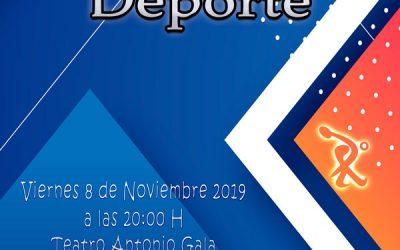 La XXXII Gala Municipal del Deporte se celebrará el próximo viernes 8 de noviembre en el Teatro Antonio Gala.