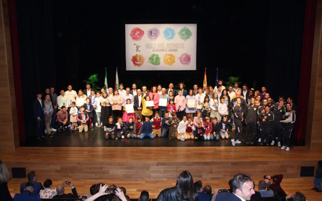 La XXXII Gala Municipal del Deporte otorga más de 70 reconocimientos a deportistas y entidades.