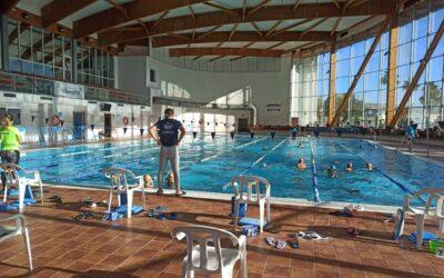 Éxito del equipo Alhaurino de natación en la prueba celebrada en nuestra localidad.