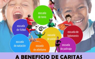 Torneos solidarios a beneficio de Cáritas y Asuntos sociales.
