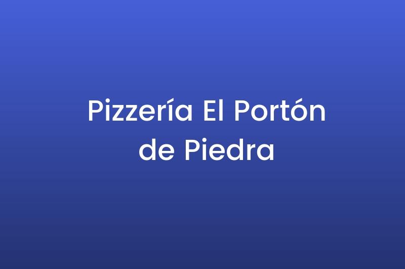 Pizzería El Portón de Piedra