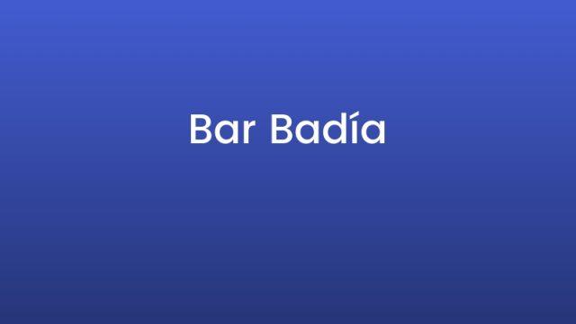 Bar Badía