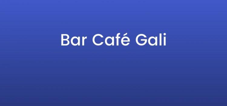 Café Bar Gali