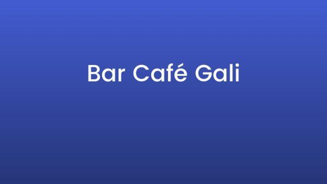 Bar Café Gali