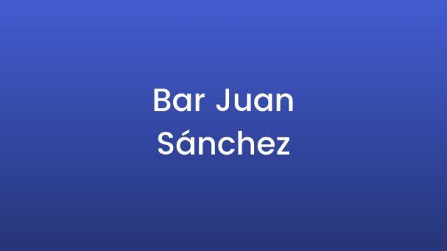 Bar Juan Sánchez