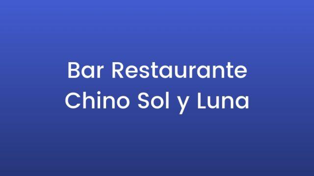 Bar Restaurante Chino Sol y Luna
