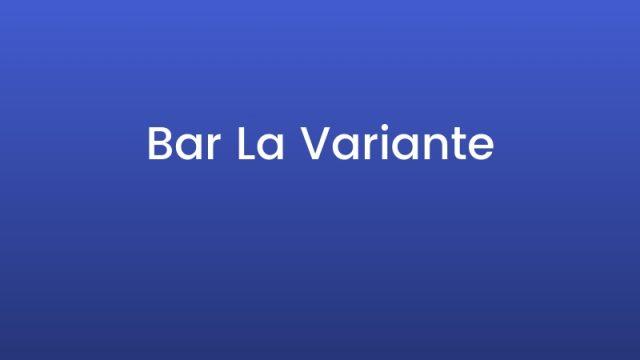 Bar La Variante