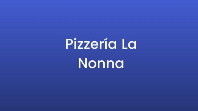 Pizzería La Nonna