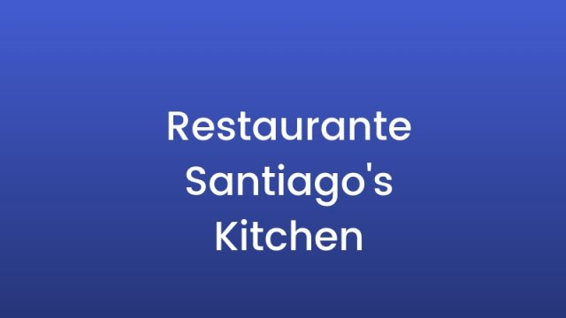 Restaurante Santiagos's kitchen