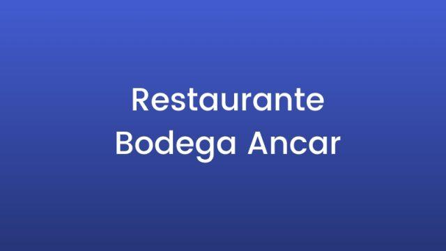 Restaurante Bodega Ancar