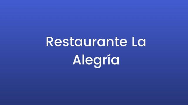 Restaurante La Alegría