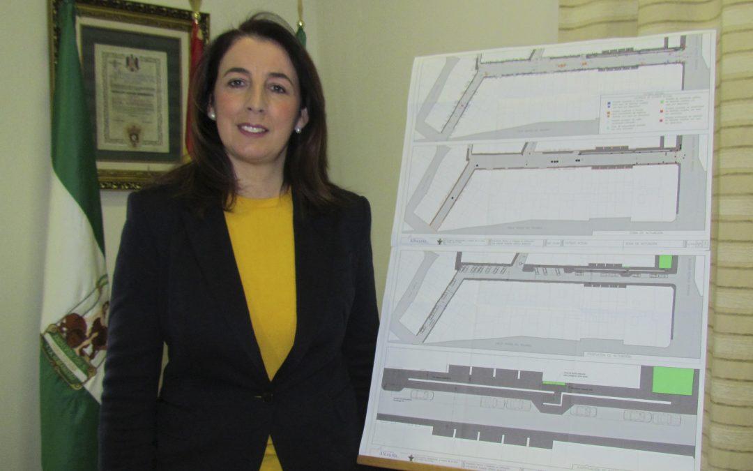 La alcaldesa anuncia el inicio de las obras en Calle Virgen de la Paz