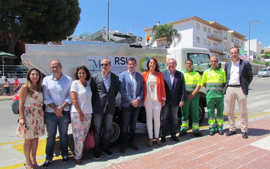 La Diputación de Málaga elige Alhaurín el Grande para campaña pionera en la recogida de envases ligeros en el casco histórico