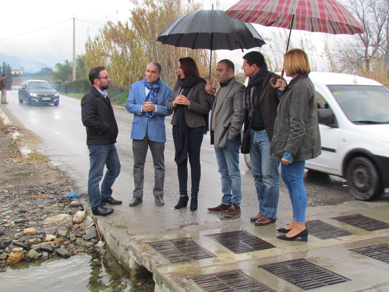 La Diputación Provincial se compromete a financiar el puente sobre el río Fahala