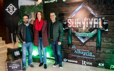 La alcaldesa inaugura el Survival Digital Experience, entretenimiento tecnológico para toda la familia