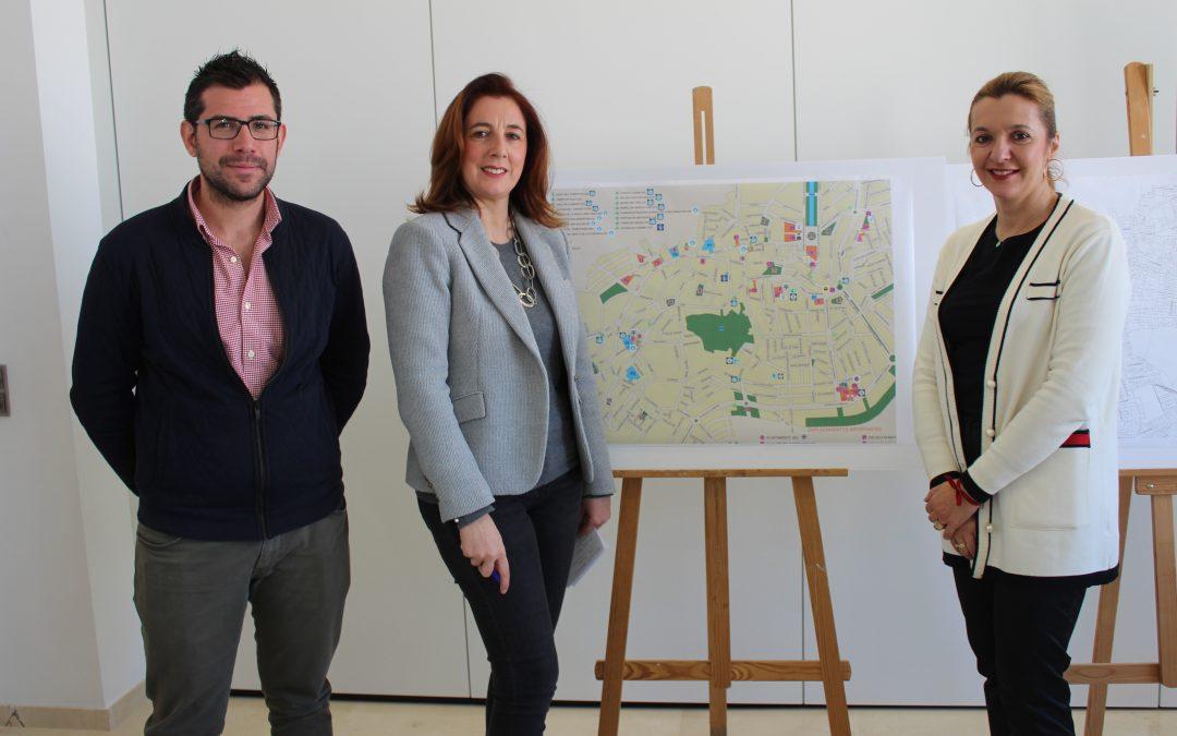La alcaldesa presenta un avance del III Plan de Revitalización del Centro Histórico.