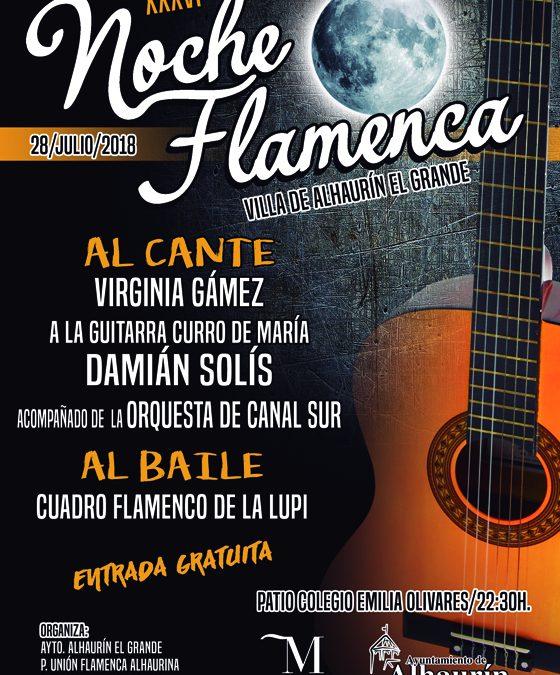 Alhaurín el Grande celebrará este sábado su gran Noche Flamenca