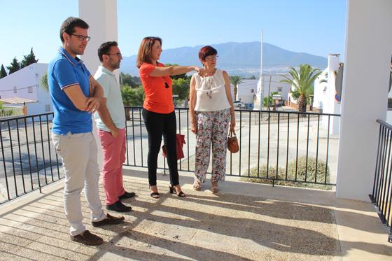 El ayuntamiento invertirá en los próximos meses más de 2.2 millones de euros en Villafranco del Guadalhorce