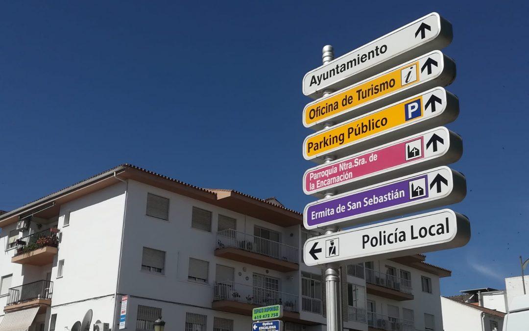 Alhaurín el Grande renueva la señalización turística