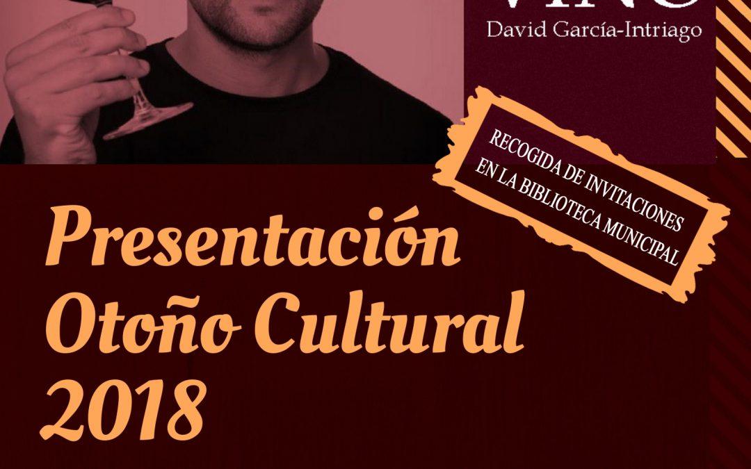 Presentación Otoño Cultural 2018