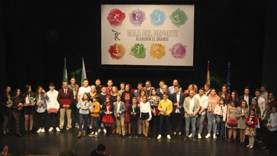 La XXXI Gala Municipal del Deporte otorga 62 reconocimientos a deportistas y entidades