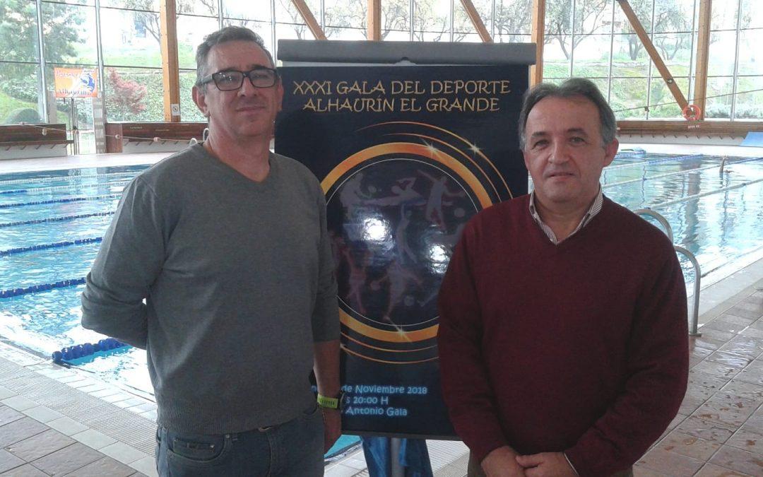 El próximo viernes 16 de noviembre se celebrará la XXXI Gala Municipal del Deporte