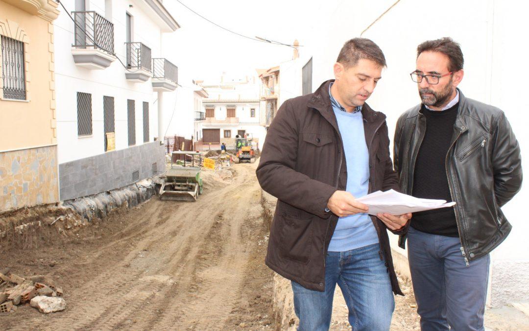 El Ayuntamiento invierte más de 250.000 euros en el barrio de la Huerta del Hoyo.