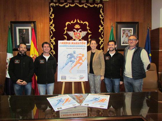 La I Media Maratón Monumental Alhaurín el Grande tendrá lugar el 24 de febrero.