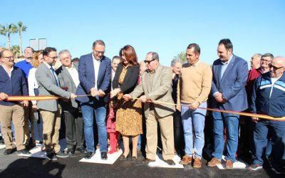 Se inaugura un nuevo vial que conecta el casco histórico con el Recinto Ferial de Alhaurín el Grande