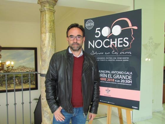 """Alhaurín el Grande acogerá el espectáculo """"500 noches, Sabina en las venas"""""""