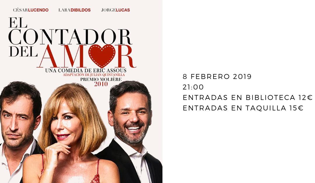 """La exitosa comedia """"El Contador del Amor"""" llega a Alhaurín el Grande tras su paso por los principales teatros del país"""
