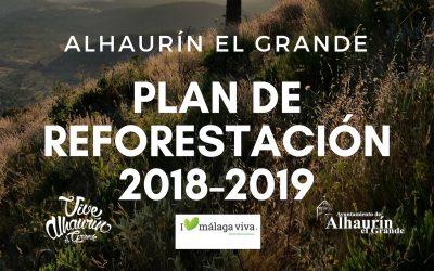 El Área de Medio Ambiente pone en marcha el Plan Municipal de Reforestación.