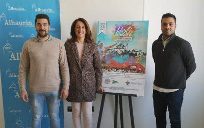 Alhaurín el Grande presenta su I Carrera Holi Colours, que tendrá lugar el 24 de marzo