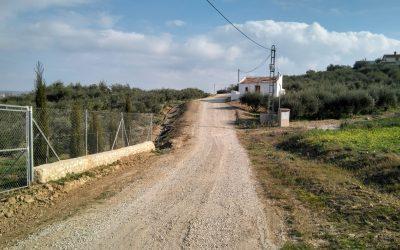 Alhaurín el Grande invierte más de 155.000 € en el arreglo de Caminos Rurales por daños del temporal.