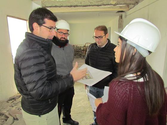 El ayuntamiento inicia las obras en la nueva Biblioteca Municipal de Villafranco del Guadalhorce
