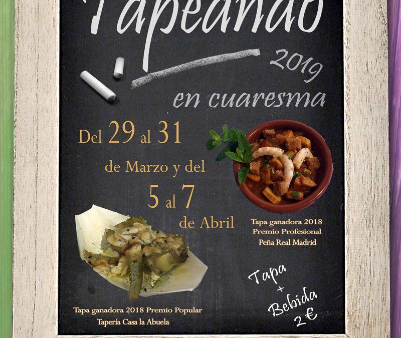 Mañana arranca la quinta edición de Tapeando en Cuaresma
