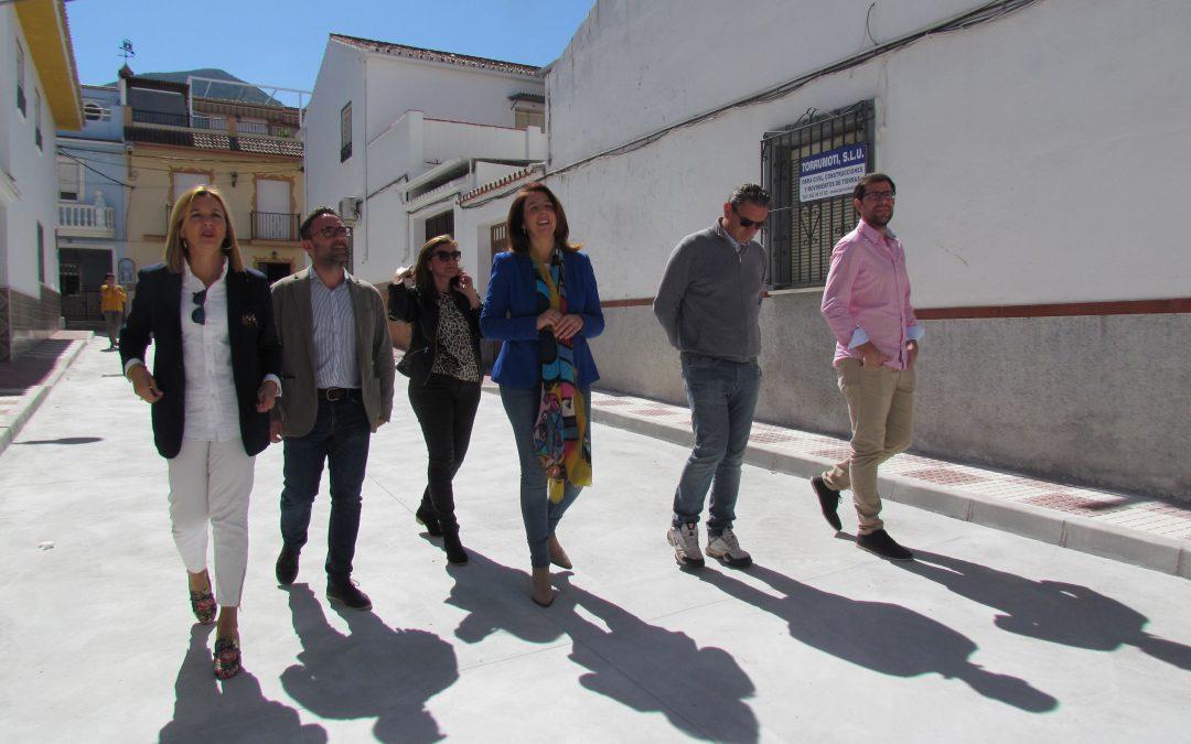 El barrio de la Huerta del Hoyo se abre al tráfico tras su remodelación