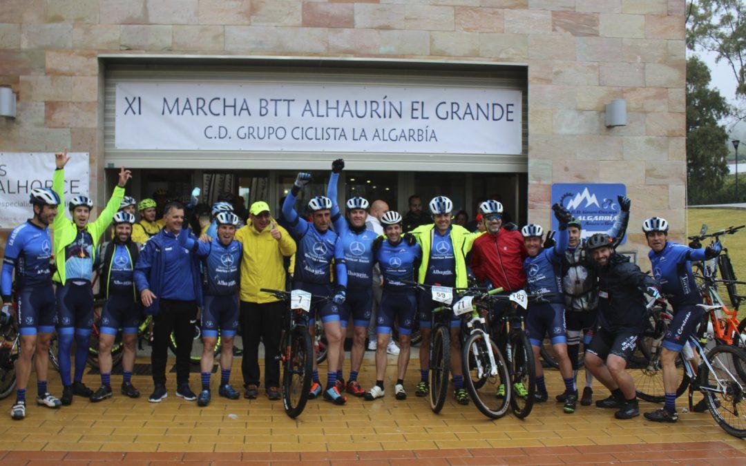 Más de 200 corredores han participado en la XI Marcha BTT Media Maratón Subida a la Bola