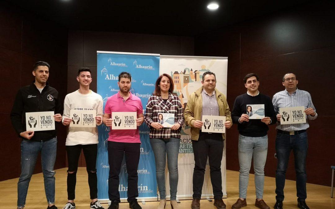 """Alhaurín el Grande firma su adhesión a la red """"Menores ni una gota""""."""